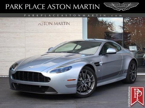 2015 Aston Martin V8 Vantage For Sale In Kansas Carsforsale Com