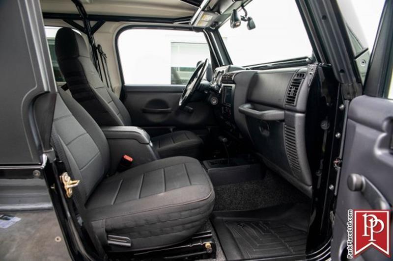 2005 Jeep Wrangler 16