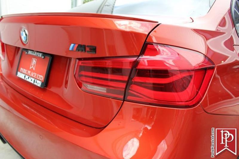 2016 BMW M3 8