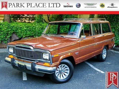 Jeep Wagoneer For Sale >> Used Jeep Wagoneer For Sale Carsforsale Com