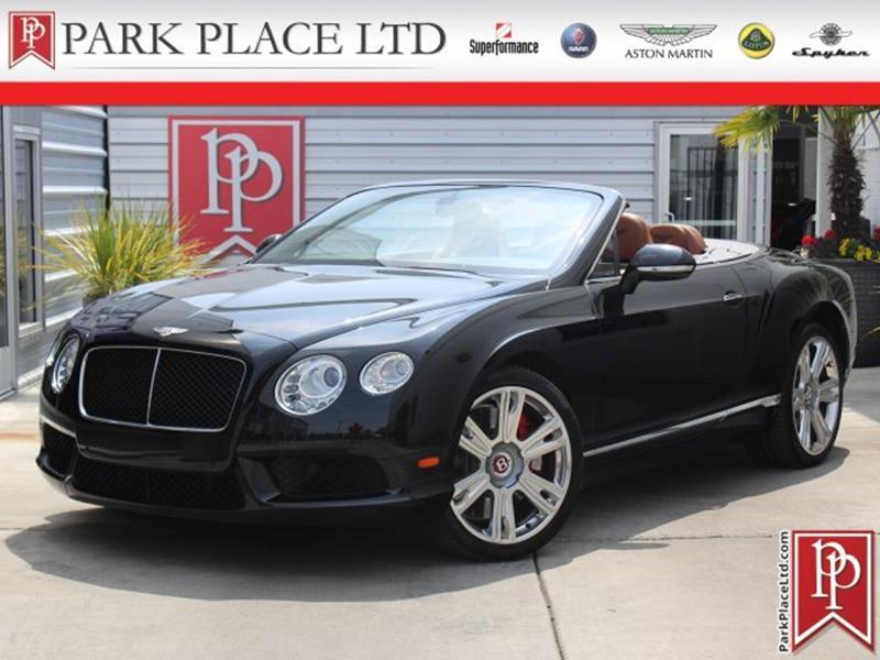 2014 Bentley Continental 77