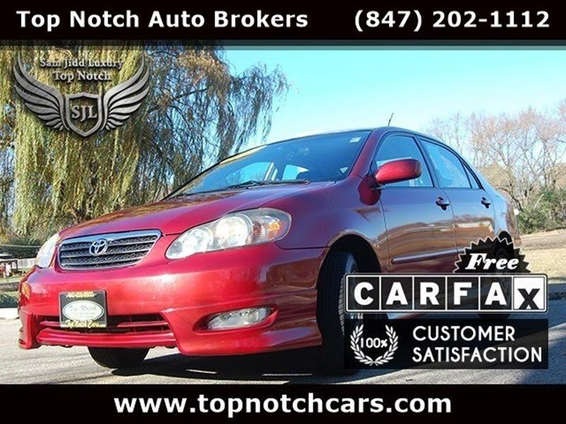 2005 Toyota Corolla For Sale At Top Notch Auto Brokers, Inc. In Palatine IL