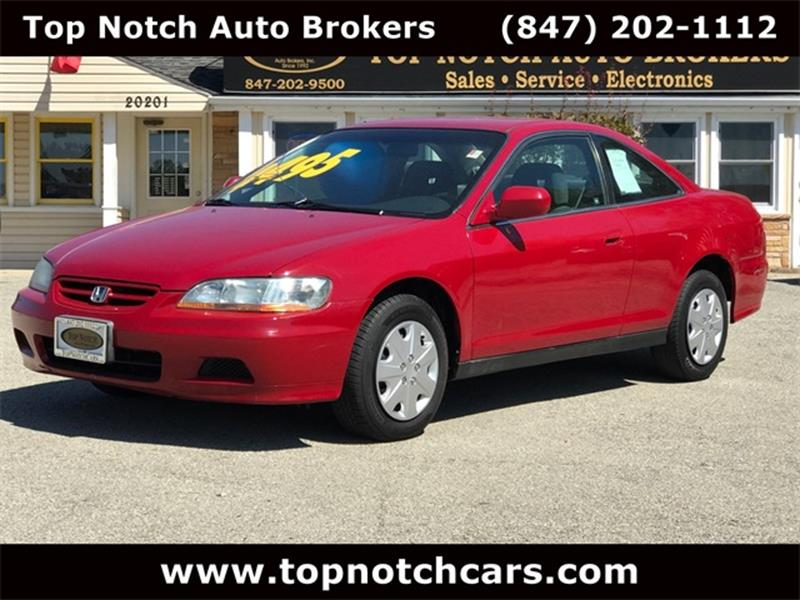 2001 Honda Accord For Sale At Top Notch Auto Brokers, Inc. In Palatine IL