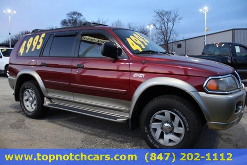 2000 Mitsubishi Montero Sport For Sale At Top Notch Auto Brokers, Inc. In  Palatine