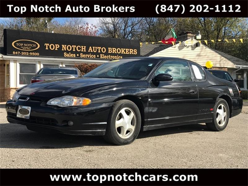2003 Chevrolet Monte Carlo For Sale At Top Notch Auto Brokers, Inc. In  Palatine