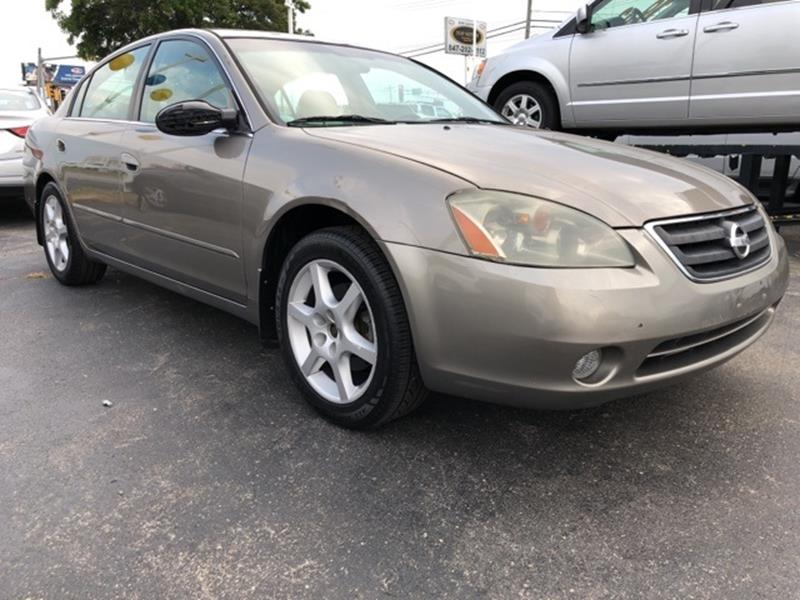 2004 Nissan Altima For Sale At Top Notch Auto Brokers, Inc. In Palatine IL