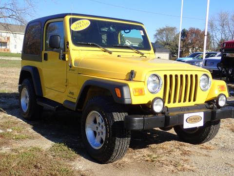 2004 Jeep Wrangler for sale in Palatine, IL