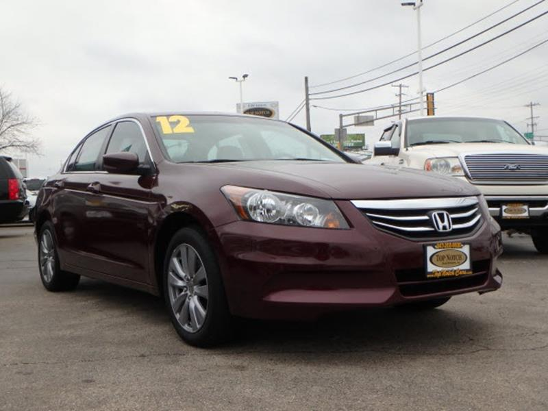 2012 honda accord ex l in palatine il top notch auto brokers inc. Black Bedroom Furniture Sets. Home Design Ideas
