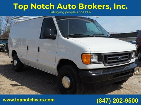 2003 Ford E-Series Cargo for sale at Top Notch Auto Brokers, Inc. in Palatine IL