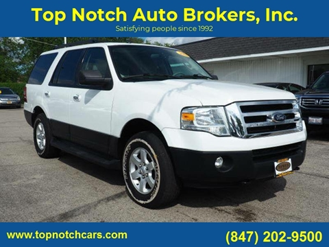 2012 Ford Expedition for sale at Top Notch Auto Brokers, Inc. in Palatine IL