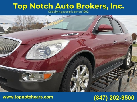 2009 Buick Enclave for sale at Top Notch Auto Brokers, Inc. in Palatine IL
