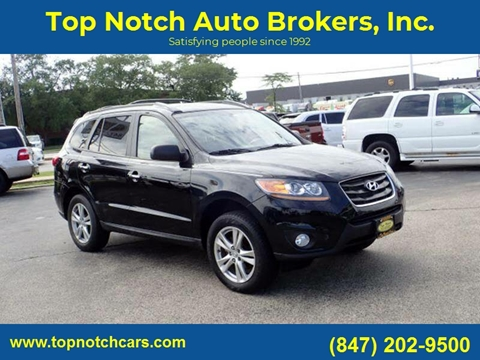 2012 Hyundai Santa Fe for sale at Top Notch Auto Brokers, Inc. in Palatine IL