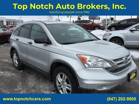 2010 Honda CR-V for sale at Top Notch Auto Brokers, Inc. in Palatine IL