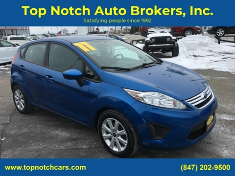 2011 Ford Fiesta for sale at Top Notch Auto Brokers, Inc. in Palatine IL