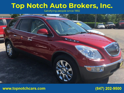 2012 Buick Enclave for sale at Top Notch Auto Brokers, Inc. in Palatine IL