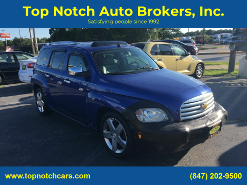 2006 Chevrolet HHR for sale at Top Notch Auto Brokers, Inc. in Palatine IL