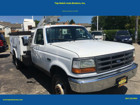 1997 Ford F-450 for sale at Top Notch Auto Brokers, Inc. in Palatine IL