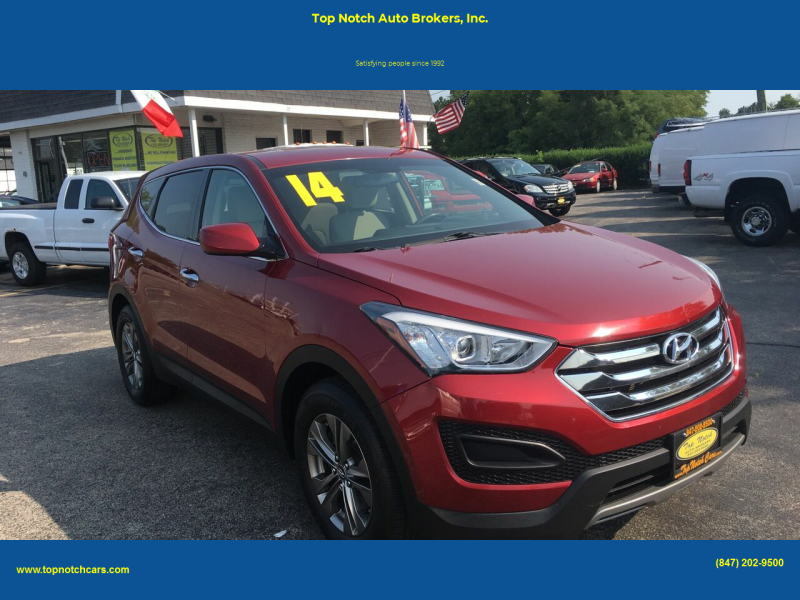 2014 Hyundai Santa Fe Sport for sale at Top Notch Auto Brokers, Inc. in Palatine IL