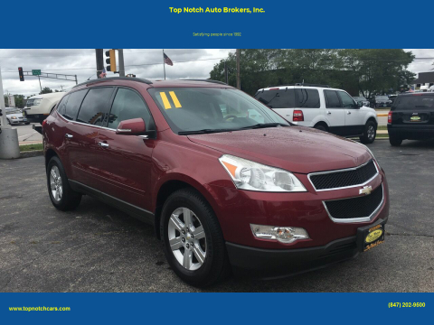 2011 Chevrolet Traverse for sale at Top Notch Auto Brokers, Inc. in Palatine IL