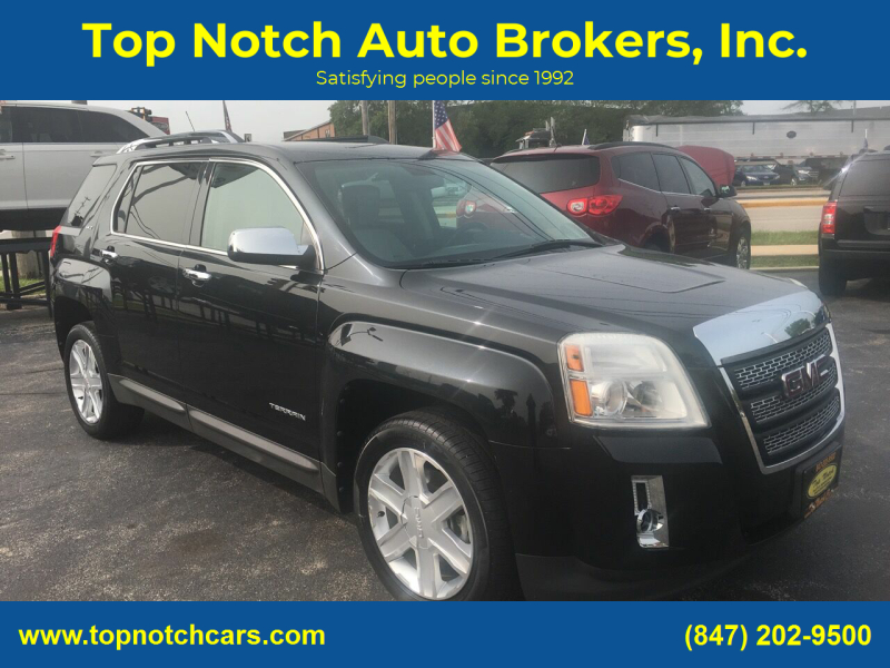2010 GMC Terrain for sale at Top Notch Auto Brokers, Inc. in Palatine IL