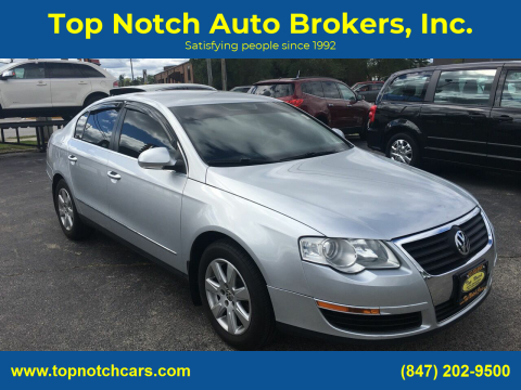 2008 Volkswagen Passat for sale at Top Notch Auto Brokers, Inc. in Palatine IL