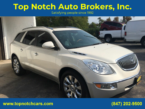 2010 Buick Enclave for sale at Top Notch Auto Brokers, Inc. in Palatine IL