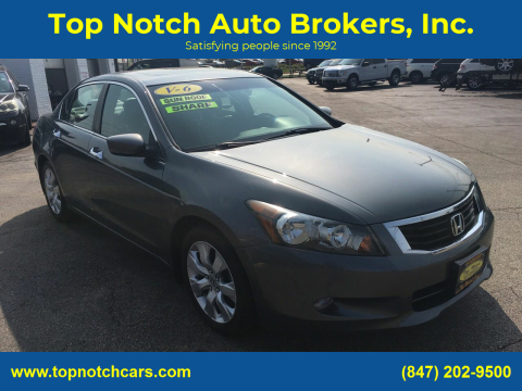 2009 Honda Accord for sale at Top Notch Auto Brokers, Inc. in Palatine IL