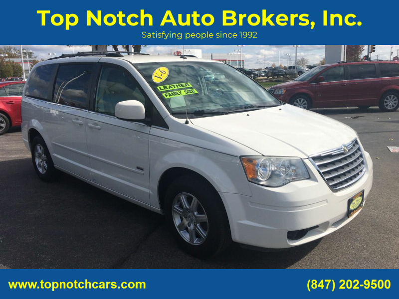 2008 Chrysler Town and Country for sale at Top Notch Auto Brokers, Inc. in Palatine IL