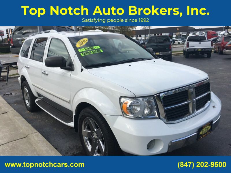 2008 Dodge Durango for sale at Top Notch Auto Brokers, Inc. in Palatine IL