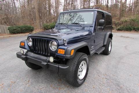 2006 Jeep Wrangler for sale in Greensboro, NC