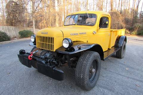 1946 Dodge WDX Power Wagon for sale at AUTO FOCUS in Greensboro NC