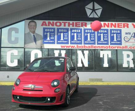 Fiat 500 for sale in danville ky for Bob allen motor mall in danville ky