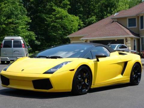 2007 Lamborghini Gallardo for sale at Simply Motors LLC in Binghamton NY