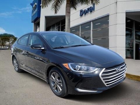 2018 Hyundai Elantra for sale in Doral, FL
