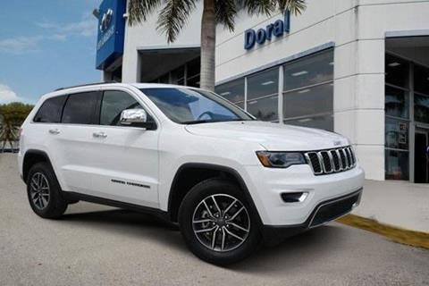 2019 Jeep Grand Cherokee for sale in Doral, FL