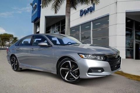2018 Honda Accord for sale in Doral, FL