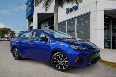 Toyota Corolla Used >> 2018 Toyota Corolla For Sale In Doral Fl