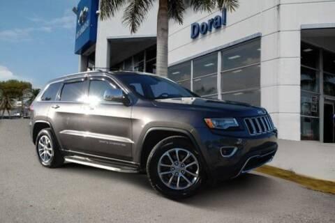 2015 Jeep Grand Cherokee for sale in Doral, FL
