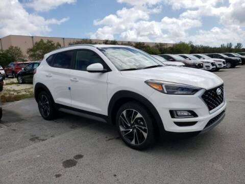2020 Hyundai Tucson Sport for sale at DORAL HYUNDAI in Doral FL