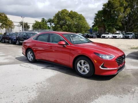 2020 Hyundai Sonata SE for sale at DORAL HYUNDAI in Doral FL
