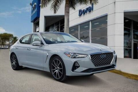 2020 Genesis G70 for sale at DORAL HYUNDAI in Doral FL