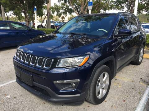 2018 Jeep Compass for sale at DORAL HYUNDAI in Doral FL