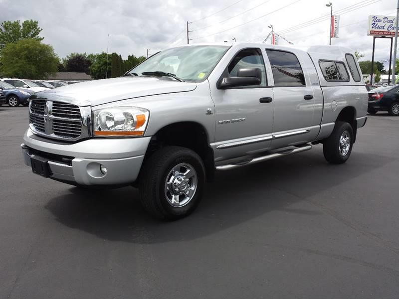 2006 Dodge Ram Pickup 3500 for sale at New Deal Used Cars in Spokane Valley WA