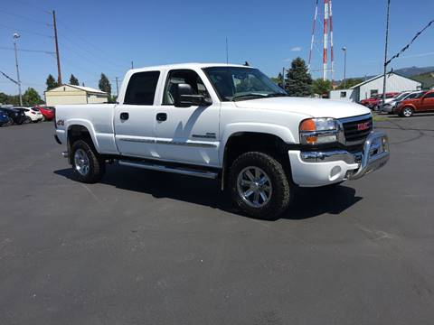 2007 GMC Sierra 2500HD Classic for sale at New Deal Used Cars in Spokane Valley WA
