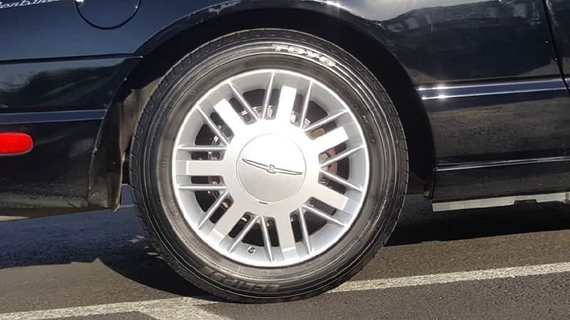 2002 Ford Thunderbird for sale at New Deal Used Cars in Spokane Valley WA