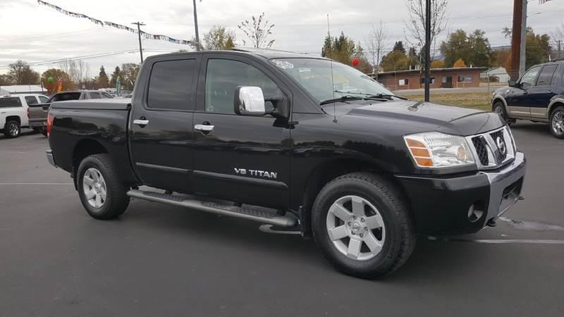 Spokane Used Nissan Titan