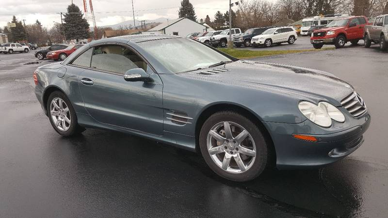 2003 Mercedes Benz SL Class For Sale At New Deal Used Cars In Spokane