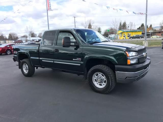 Spokane Used chevrolet Silverado 2500HD