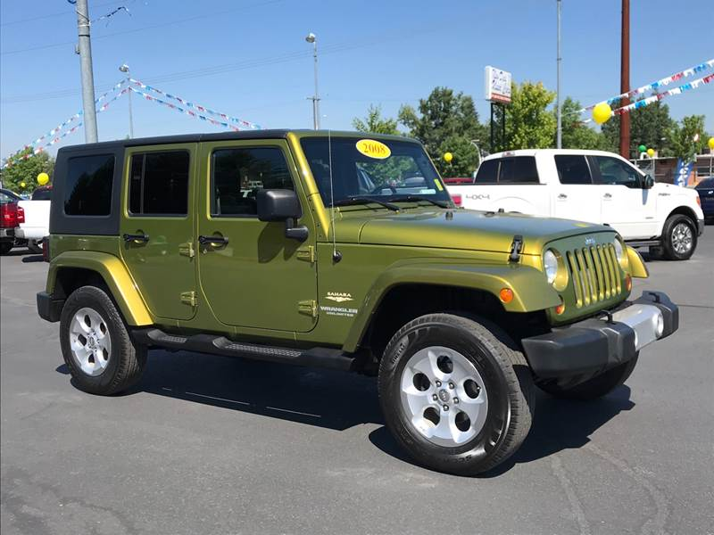 2008 Jeep Wrangler Unlimited For Sale At New Deal Used Cars In Spokane  Valley WA