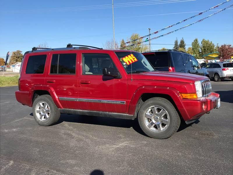 Spokane Used jeep Commander
